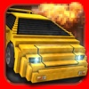 Shooting Cars . Mine Guns Road Car Racing Combat Racer Game 3D
