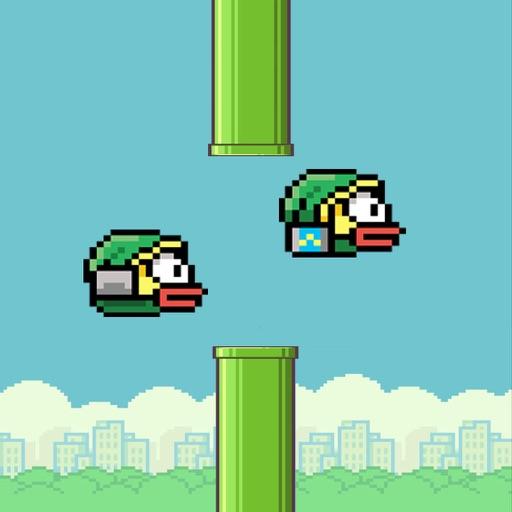 Flappy 2 Players - 彼らは鳥をピクセル