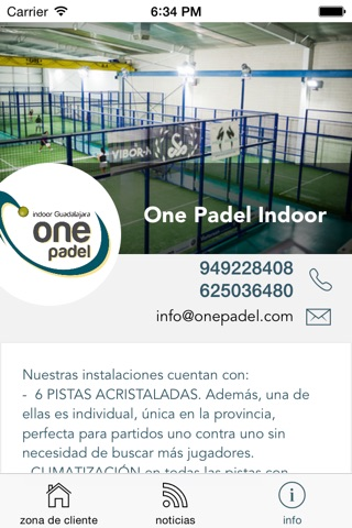 One Padel screenshot 4