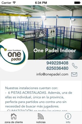 One Padel screenshot 4