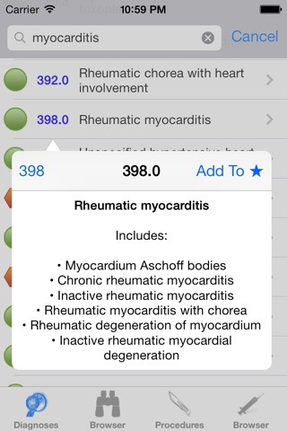 ICD9 Consult 2015 screenshot 3