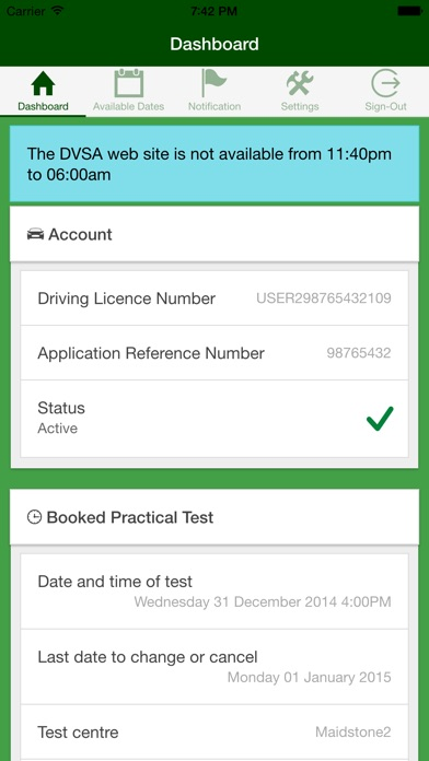 download UK Driving Test Cancellations appstore review