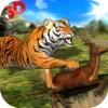 Wild Tiger Jungle Hunt 3D - Real Siberian Beast Attack on Deer in Safari-Tier Simulator Spiel