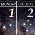Night Sky Calendar 2015 by Mike Salway icon