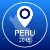 Peru Offline Mapa + Guia da Cidade Navigator, Atrações e Transportes