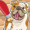 Libro Para Colorear de Perros Para Los Niños: Con Muchas Fotos Como Perro, Perrito, Mascotas