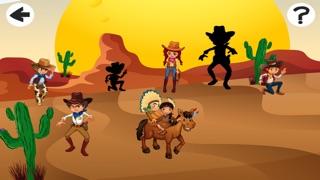 Screenshot of Cowboys Bambini Giochi4