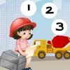 123 Adventure Construction Matematica Scuola Learning & Conteggio! Giochi Per Bambine