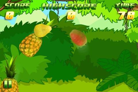 Jungle Fruit Smasher - Smash Banana, Melone, Orange and more for FREE screenshot 1