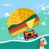 Crazy Burger Car Endless Road Adventure – Don't Drop the Burger