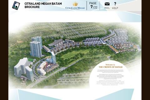 CitraLand Megah Batam Brochure screenshot 2
