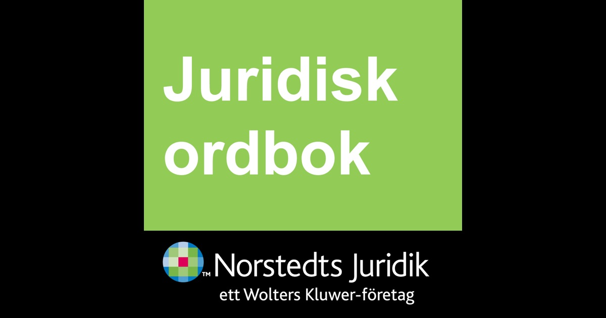 Juridisk ordbok norstedts