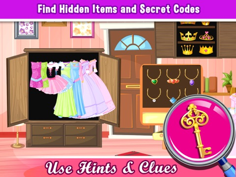Screenshots of A Princess Hollywood Hidden Object Puzzle - can u escape in a rising pics game for teenage girl stars for iPad