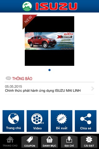 ISUZU MAI LINH screenshot 2