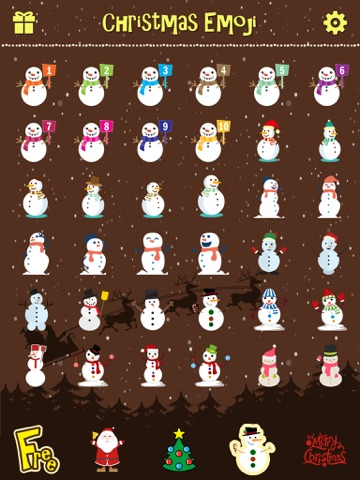 Merry Christmas Emoji - Holiday Emoticon Stickers & Emojis Icons for Message Greeting Screenshot