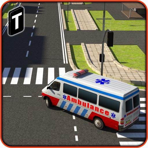 Ambulance Rescue Simulator 3D - Patients Hospital Delivery Sim