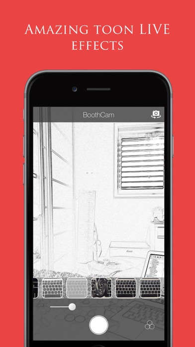 download BoothCam - Funny & Artistic Cartoon Camera with Realtime Drawn Pencil Sketch & Toon Effects apps 0