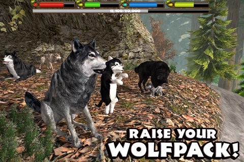 Ultimate Wolf Simulator screenshot 2