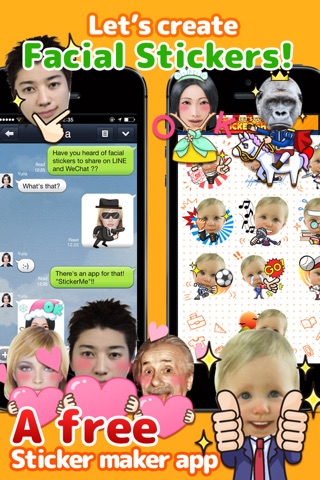 StickerMe - Selfie Stickers and Emoji screenshot 1