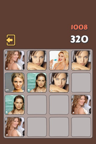 2048 Hollywood Celebrities Hottest Special Edition - New Celebrity  Version For Fans screenshot 1