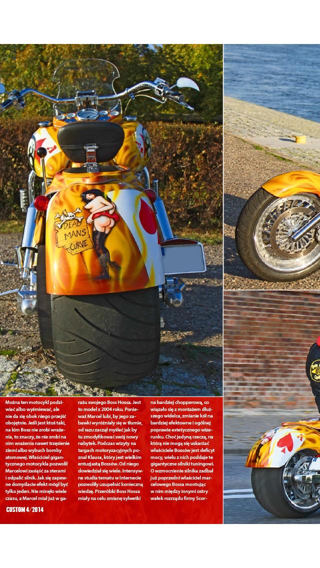 Custom magazyn motocyklowy screenshot two