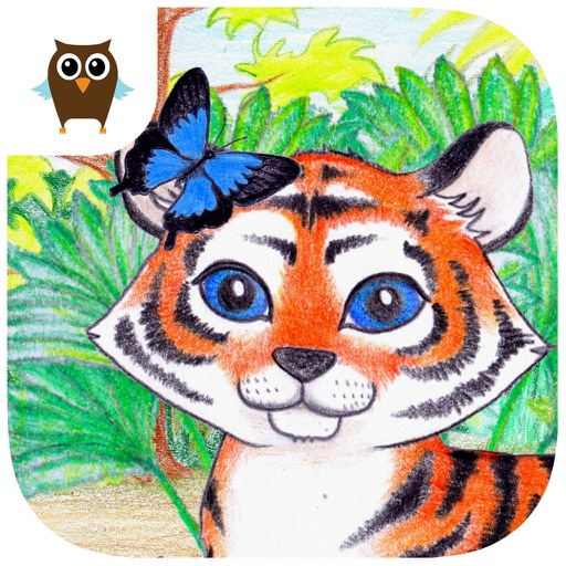 Tiger and Bugs - Kids Game iOS App