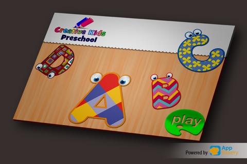 Creative Kids Academy - ABC alphabet & numbers games pre-k kids screenshot 1