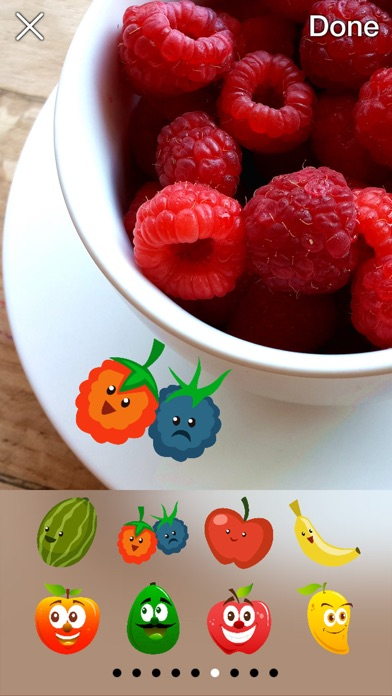 download Funny Fruit Photo Stickers apps 1