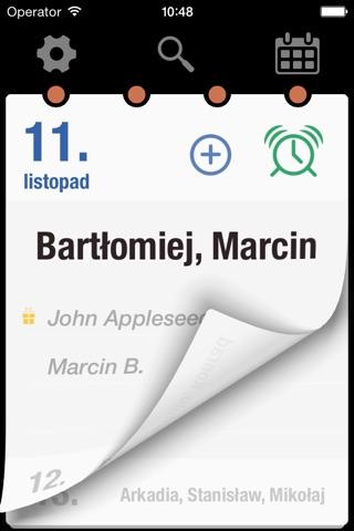 Kalendarz imion PL screenshot 1