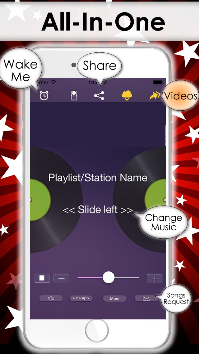 download Free Music Player on iPhone - MP3 streamer from the best online radio & DJ playlist apps 2