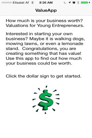 Kid Biz Valuationz screenshot 1
