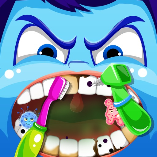 Inside Little Nick's Dentist Office – Crazy Tooth Story Games Free iOS App