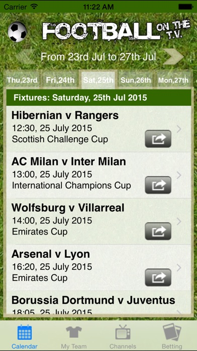 Football on the TV Скриншоты4