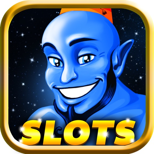 Aladdin Slot Classic 777! Best casino social slots game with blackjack area FREE iOS App