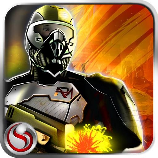 ROBOMAN War of Aliens - 3D Steel Robot Machines Fight Adventure game Simulation in City Battlefield iOS App