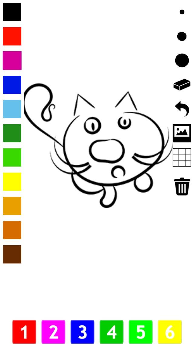 download Actif! Livre À Colorier des Chats Pour Les Enfants: Apprendre À Peindre le Chat apps 2