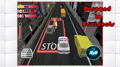 3D Rescue Racer Traffic Rush - Ambulance, Fire Truck Police Car and Emergency Vehicles : FREE GAMEСкриншоты 5
