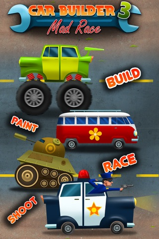 Car Builder 3 - Mad Race Driver and Auto Mechanic screenshot 1