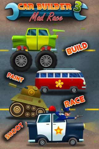 Car Builder 3 - Mad Race Driver and Auto Mechanic screenshot 1