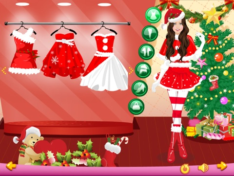 Screenshots of Dress Up - Christmas Girls for iPad