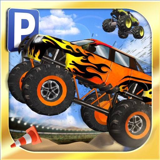 monster truck parking simulator gratuit jeux de voiture de course par play with games ltd. Black Bedroom Furniture Sets. Home Design Ideas