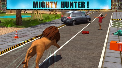 Screenshot #3 pour Angry Lion Attack 3D