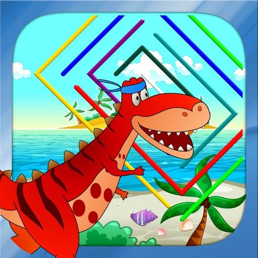 Dino Maze - Dinosaur Mazes for kids