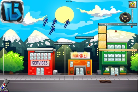 Catch The Flying Officer Lite screenshot 4