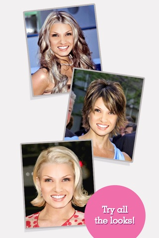 FACEinHOLE® Hairstyles for Women - Hair styler with cute haircuts for girls screenshot 4
