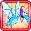 Flappy Dactyl Bird FREE - Prehistoric Adventure Game