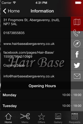 HairBase screenshot 3