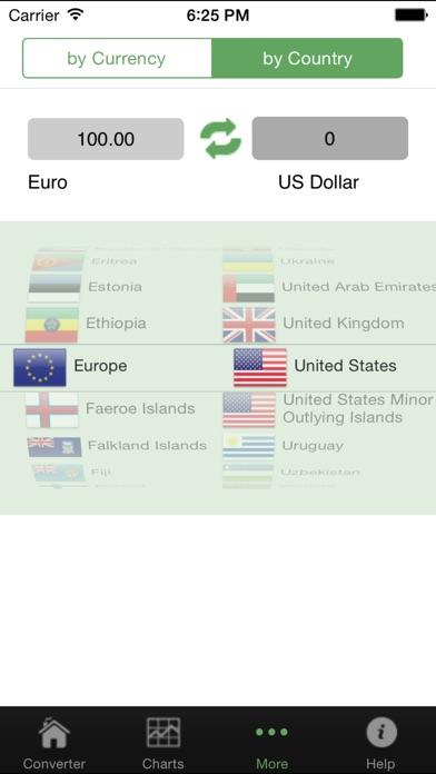 Convertisseur de devises#Capture d'écran de 3