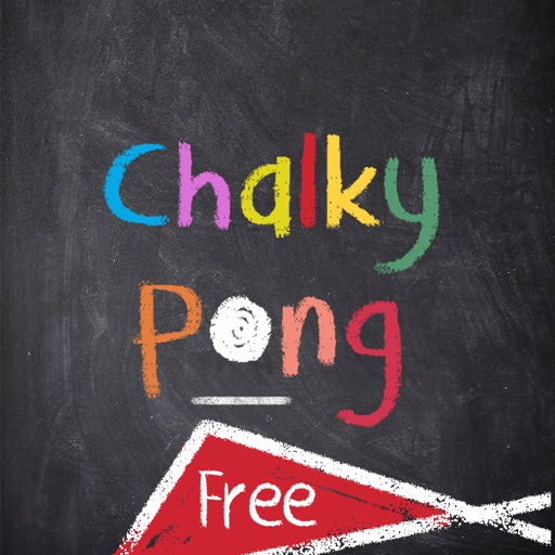Chalky Pong Free iOS App