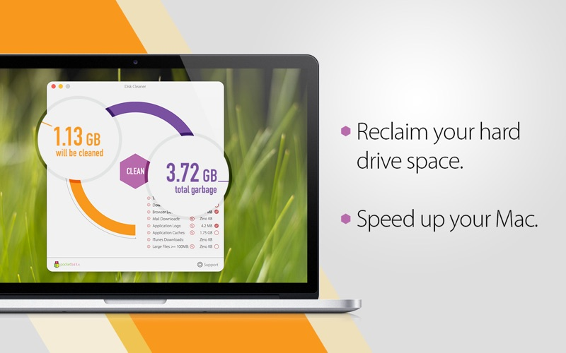 Screenshot #2 for Disk Cleaner - Free Your Hard Drive Space